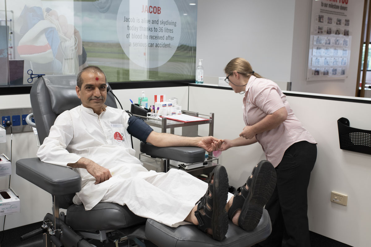 Blood Donation Drive 2018, Melbourne