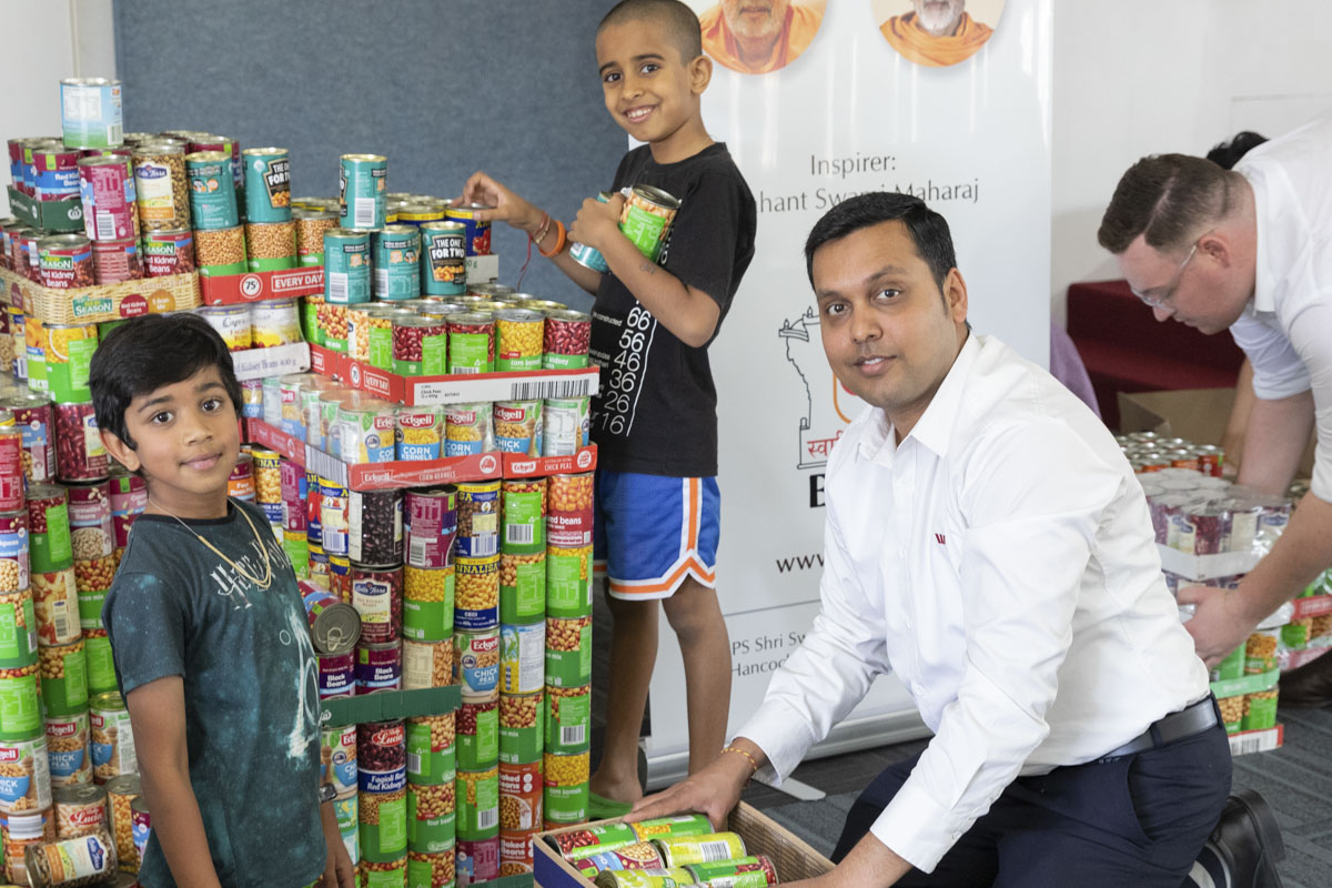Food Donation Drive, Perth