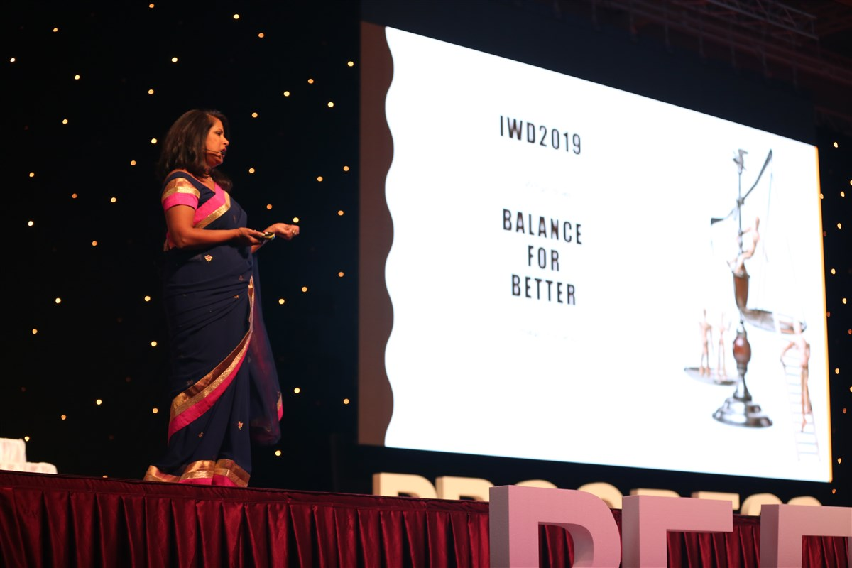 Seema Sharma, a leading dentist, entrepreneur and management consultant, spoke on 'Transform your future one habit at a time,' encapsulating the idea of continuous progress