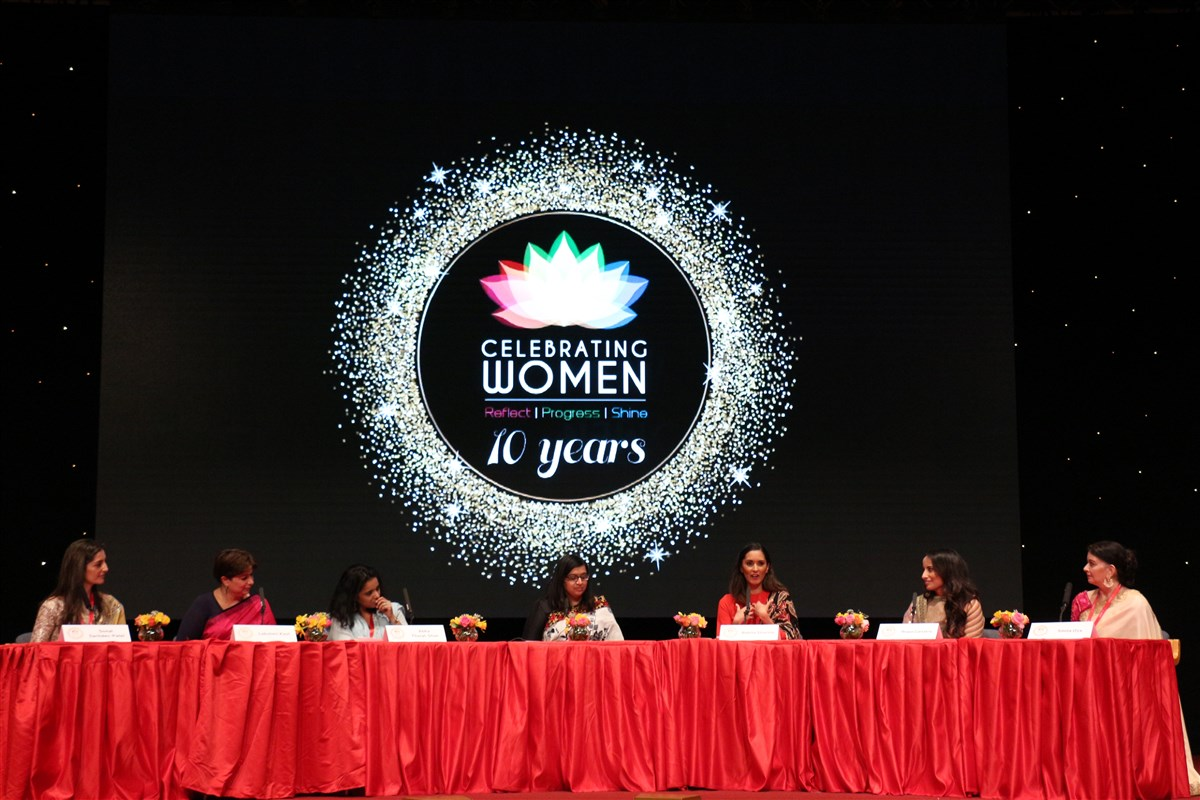 Panellists in the final session included some of the most accomplished and esteemed women in the country in their respective fields