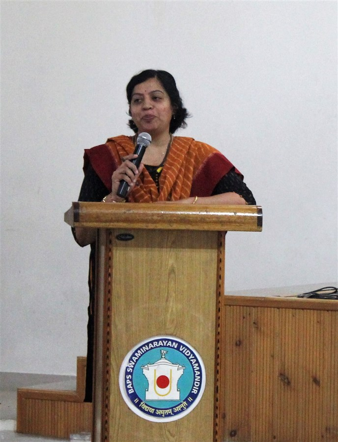 The adiveshan and felicitation ceremony were handled by Smt. Preeti Bhaliya