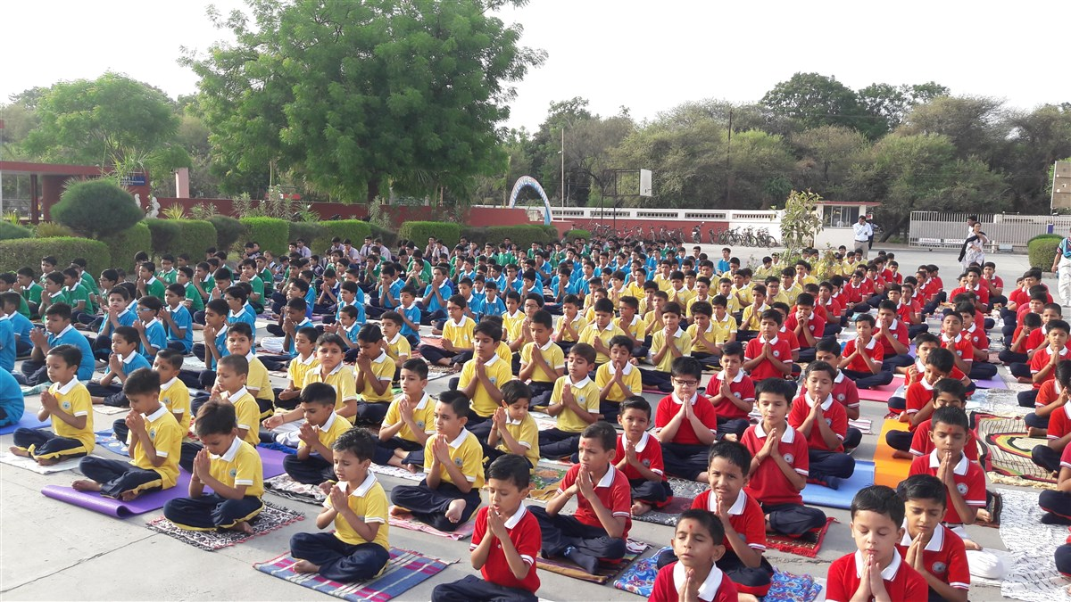 YOG-DAY CELIBRATION