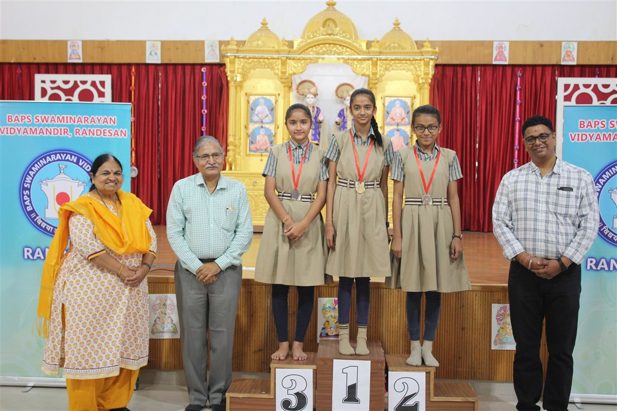 Annual Sports Day and Cyber Olympiad Felicitation 2019