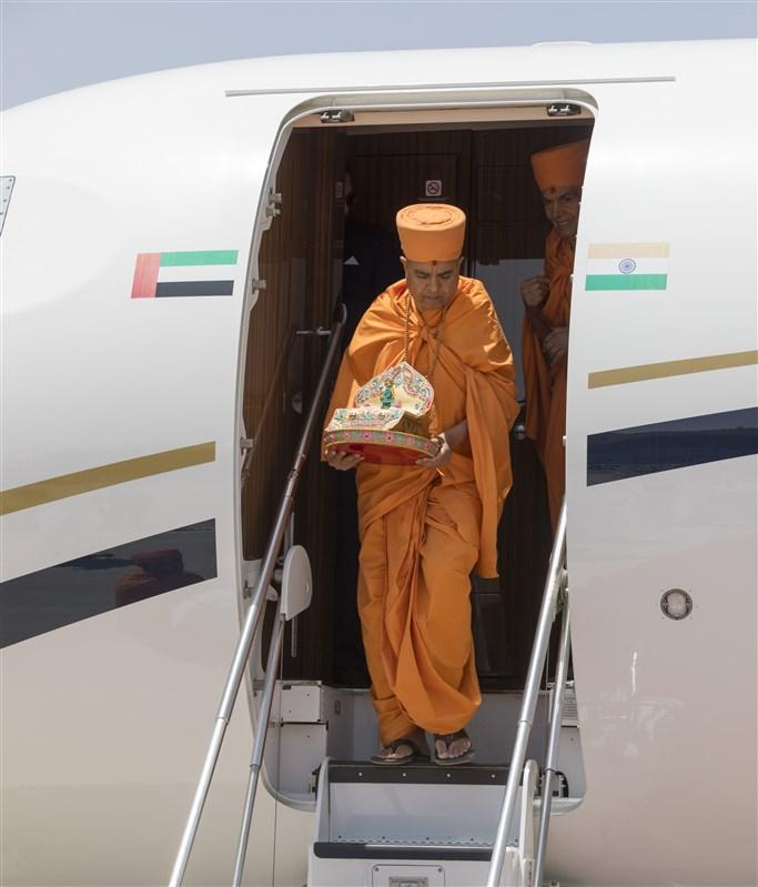 18 April 2019 - HH Mahant Swami Maharaj's Vicharan, Dubai, UAE