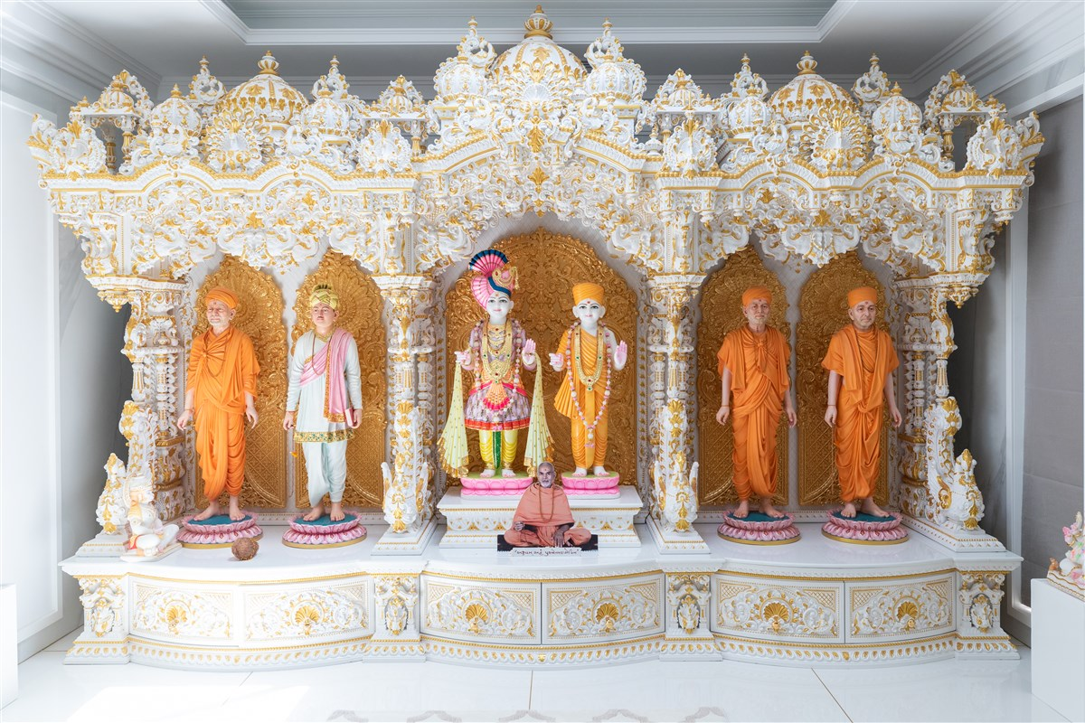 Ghar mandir at the home of Shri Rohitbhai Patel
