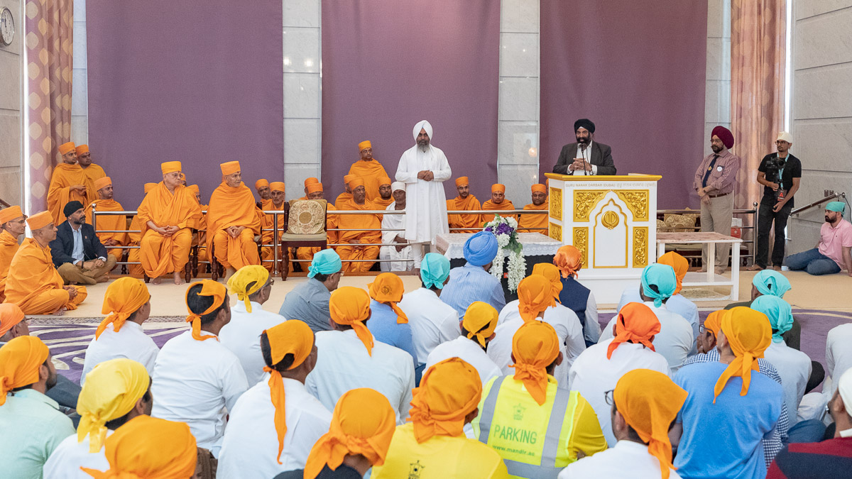 Assembly at the Gurudwara