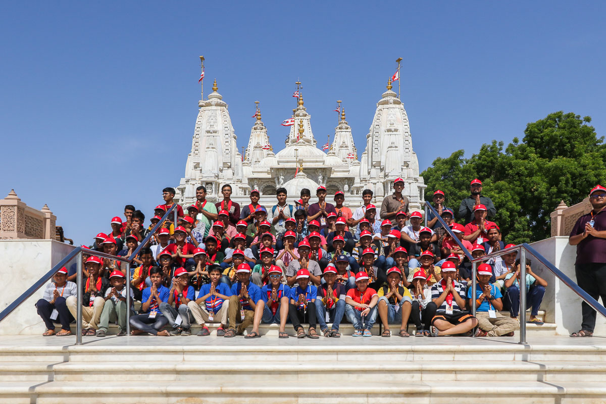 Children Visit Sacred Sites