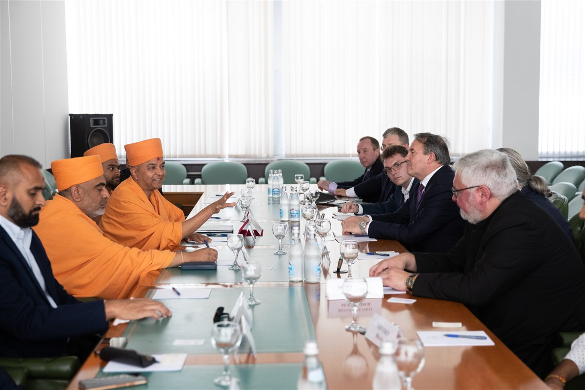 Spiritual Dialogue between The Federation of Russia and BAPS