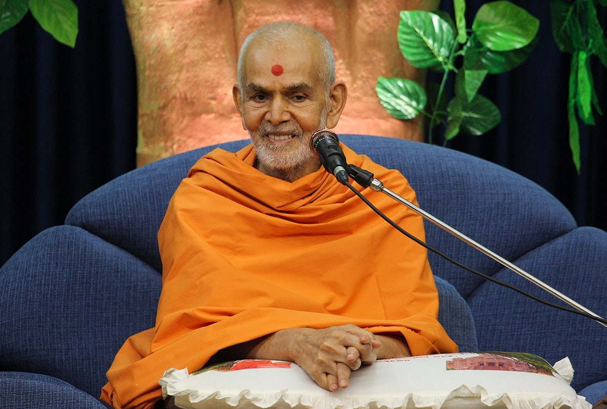 Swamishri narrates the 'Lindiyo' story