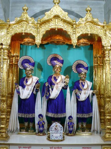 HH Pramukh Swami Maharaj's Vicharan, Sarangpur, Bhavnagar ...