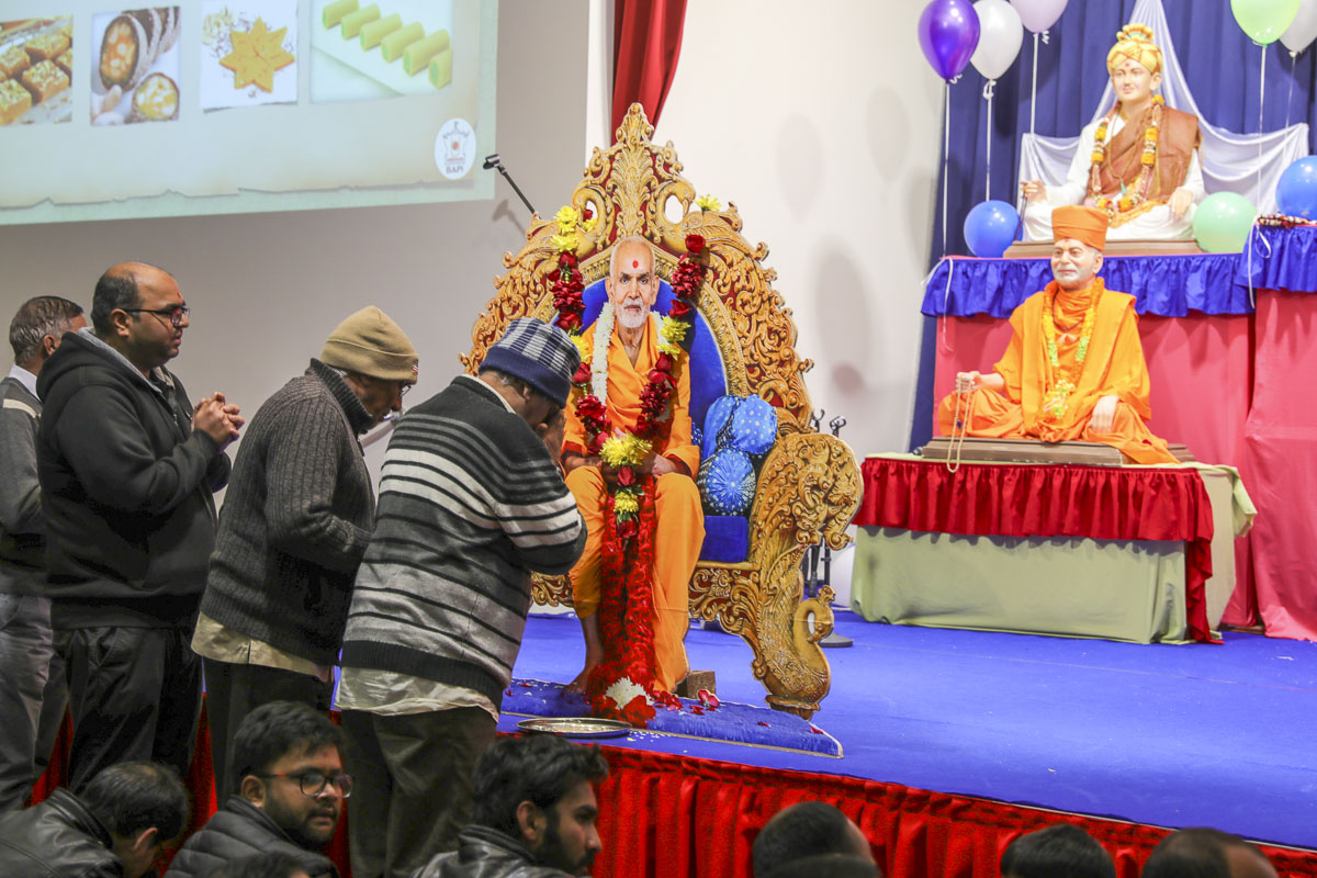 HH Mahant Swami Maharaj's 86th Birthday Celebration, Melbourne