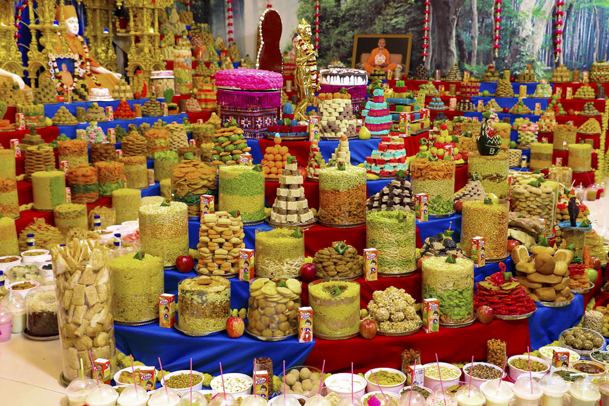 Diwali and Annakut Celebration 2019, Tithal