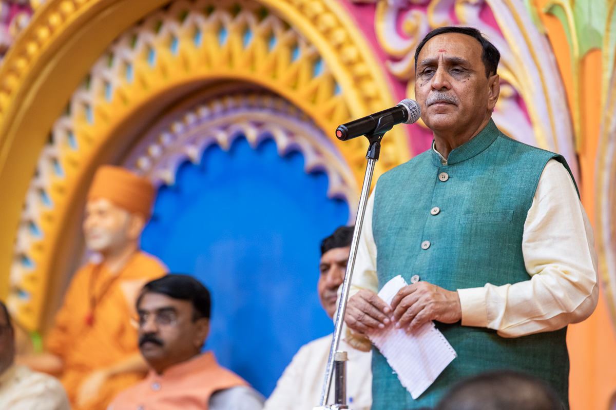 Shri Vijaybhai Rupani addresses the assembly