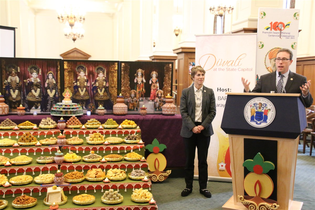 Diwali Celebration at the New Jersey State Capitol