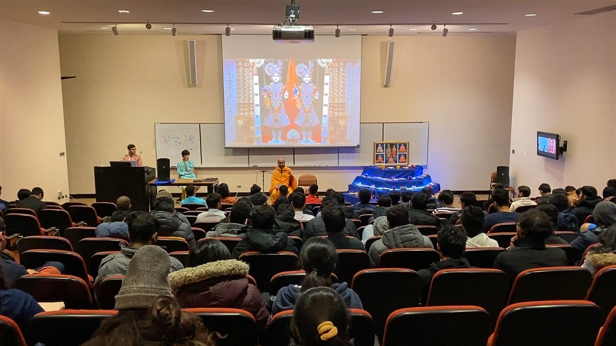 BAPS Campus Diwali Celebration at Illinois Institute of Technology