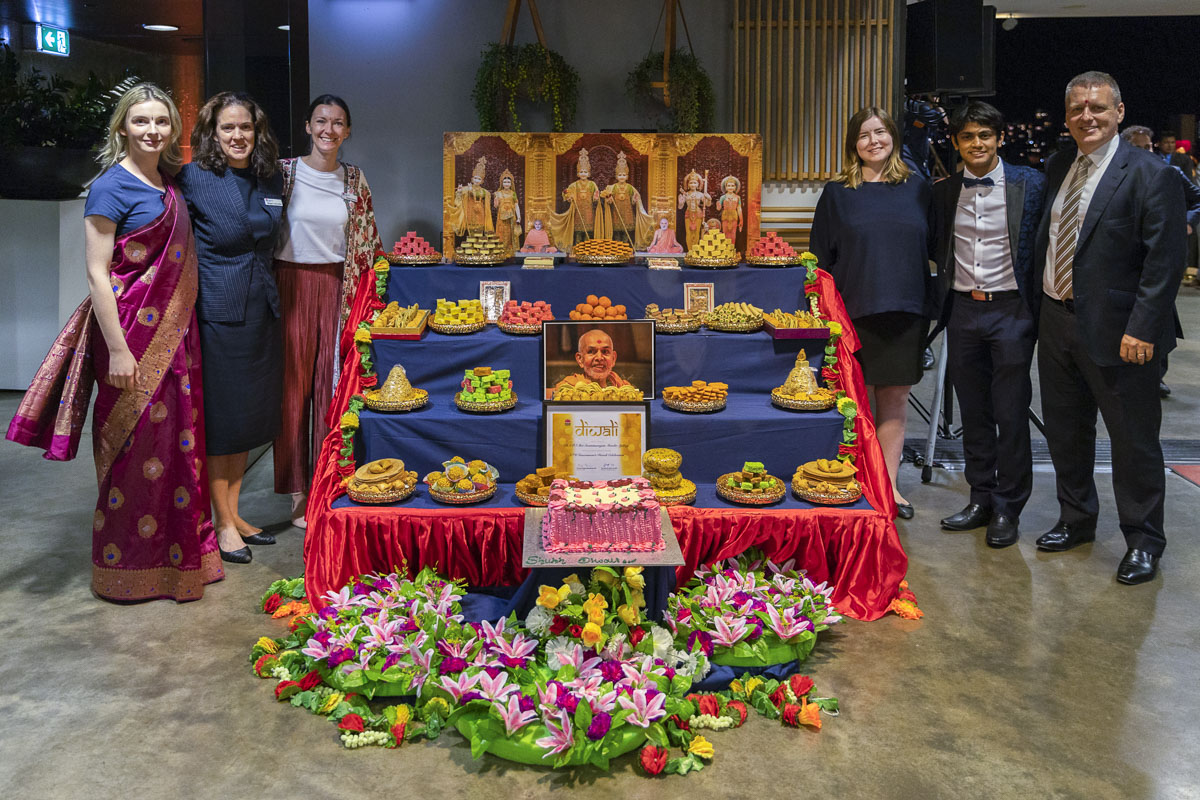 Diwali and Annakut Celebration 2019 at the Parliament of New South Wales, Sydney
