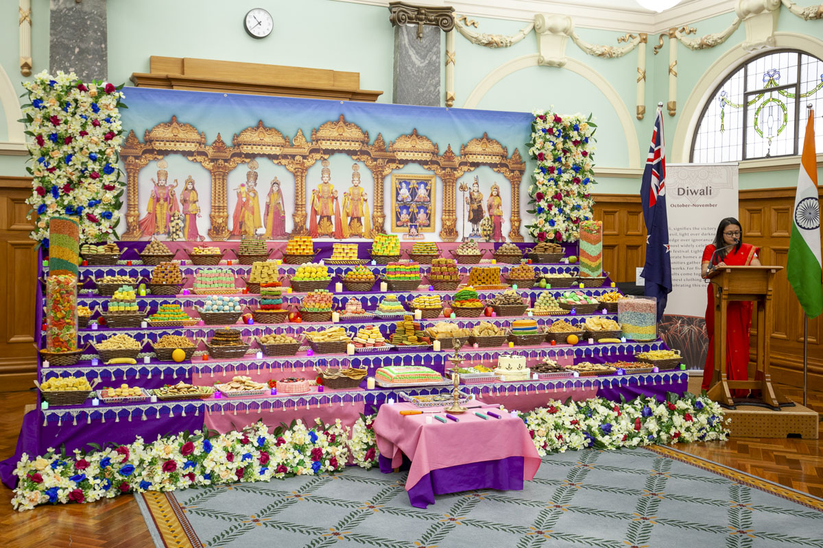 Diwali and Annakut Celebration 2019 at the New Zealand Parliament, Wellington