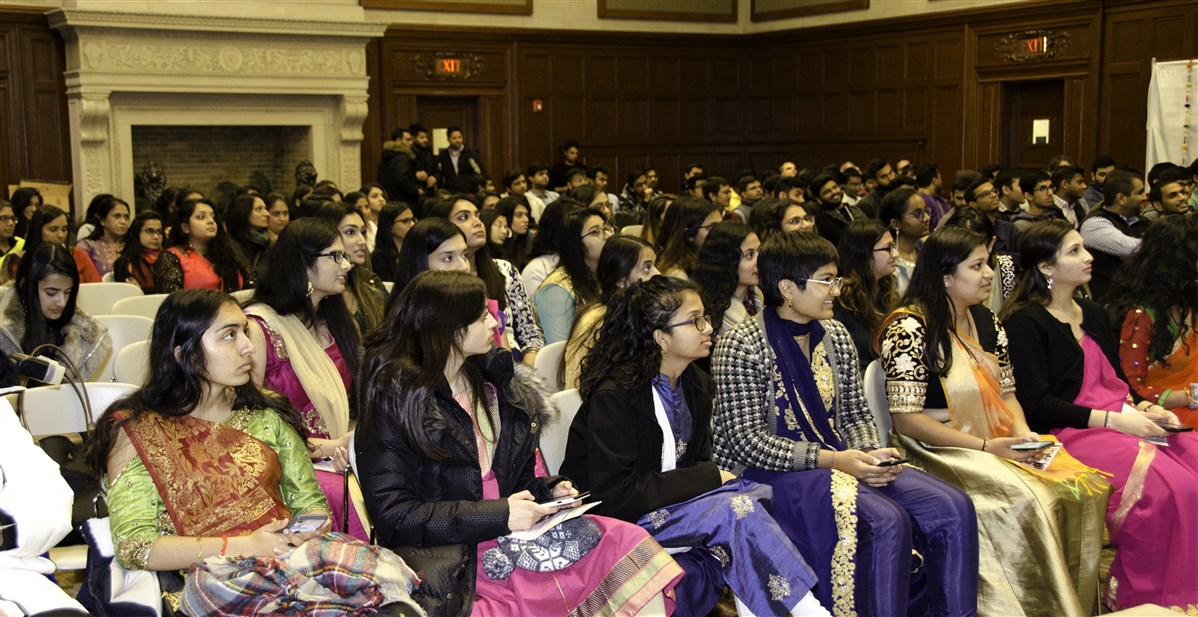 BAPS Campus Diwali Celebration at Massachusetts College of Pharmacy and Health Sciences