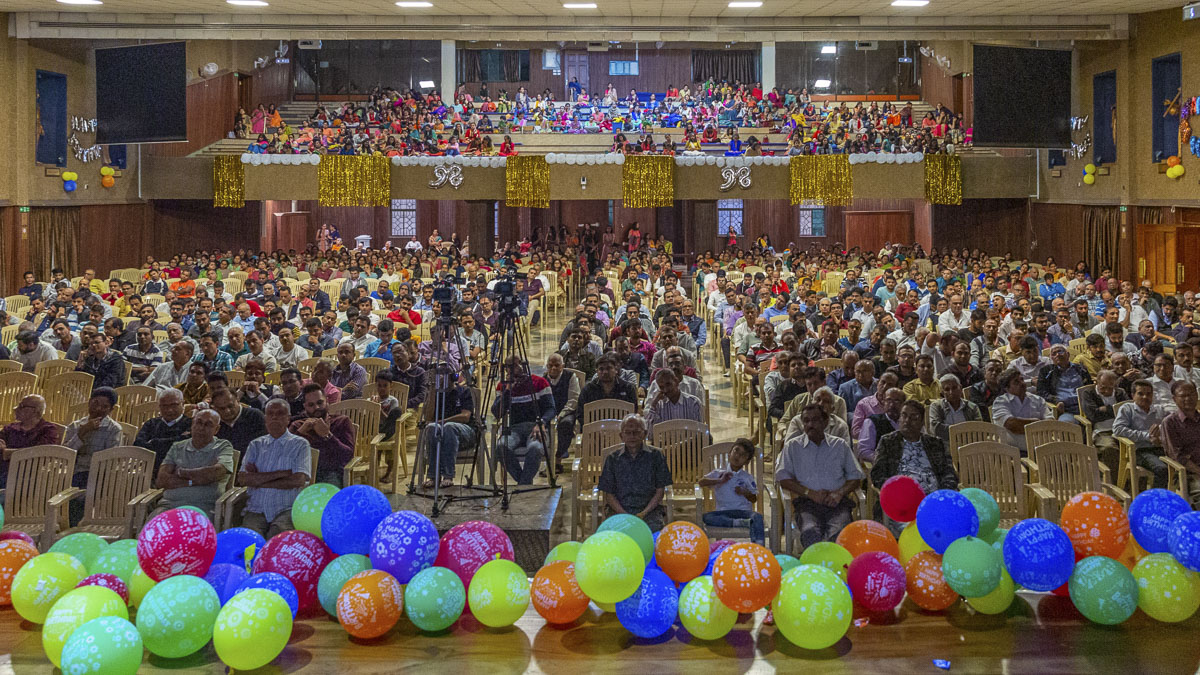 98th Birthday Celebration of Brahmaswarup Pramukh Swami Maharaj, Nairobi