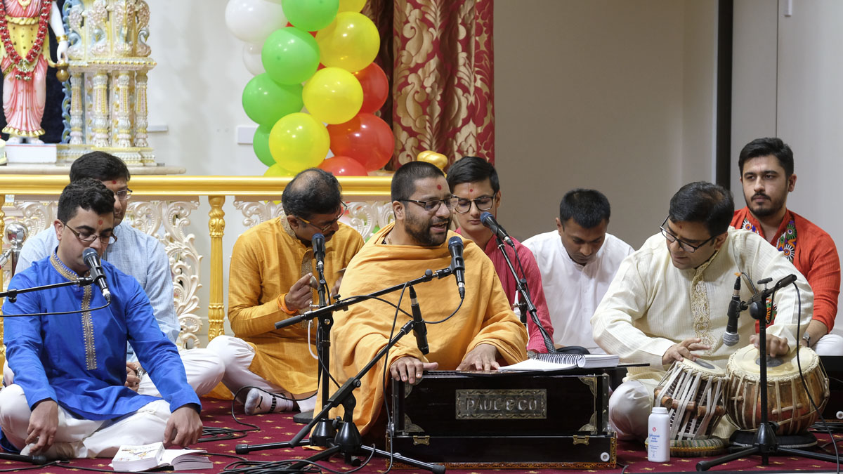 98th Birthday Celebration of Brahmaswarup Pramukh Swami Maharaj, Adelaide