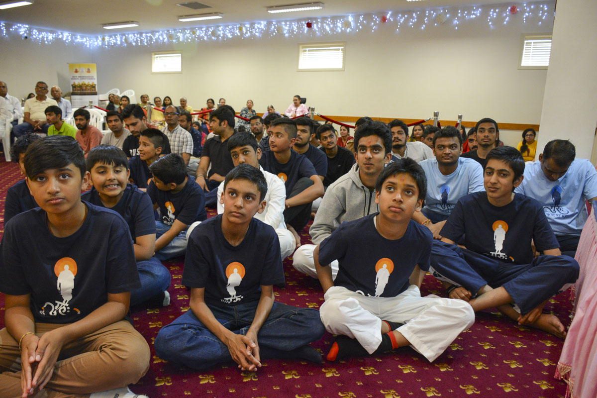 98th Birthday Celebration of Brahmaswarup Pramukh Swami Maharaj, Christchurch