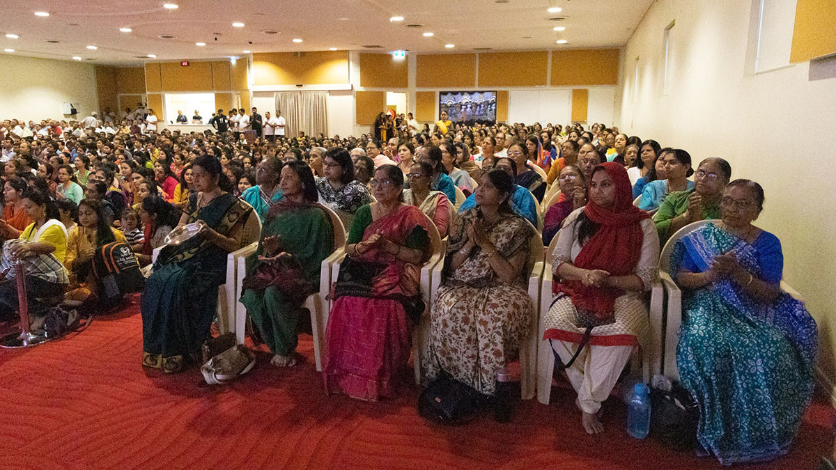 Prayer Assemblies and Outpouring of Support at BAPS Swaminarayan Mandir, Sydney