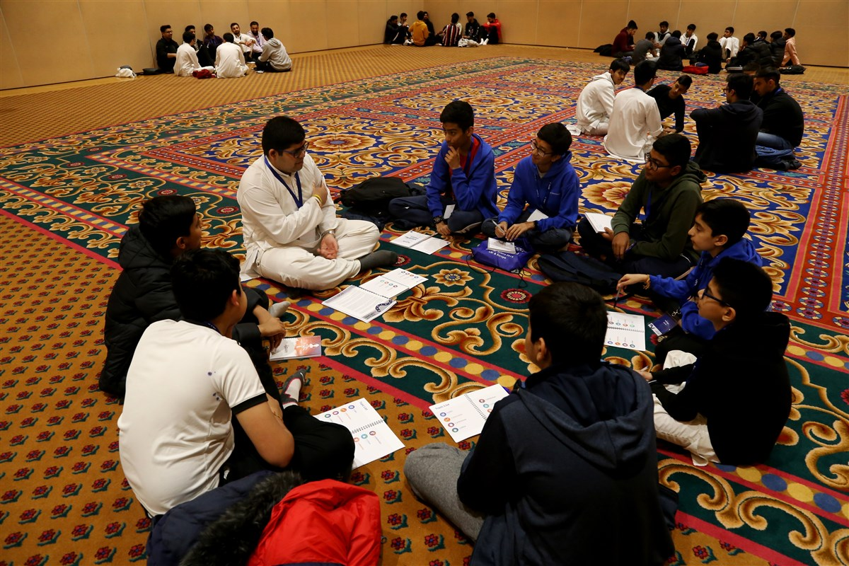 Kishore-Kishori Mandal Winter Camp, London, UK