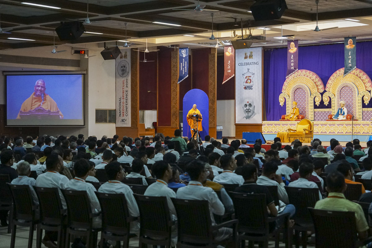 National Medico-Spiritual Conference 2020, Sarangpur