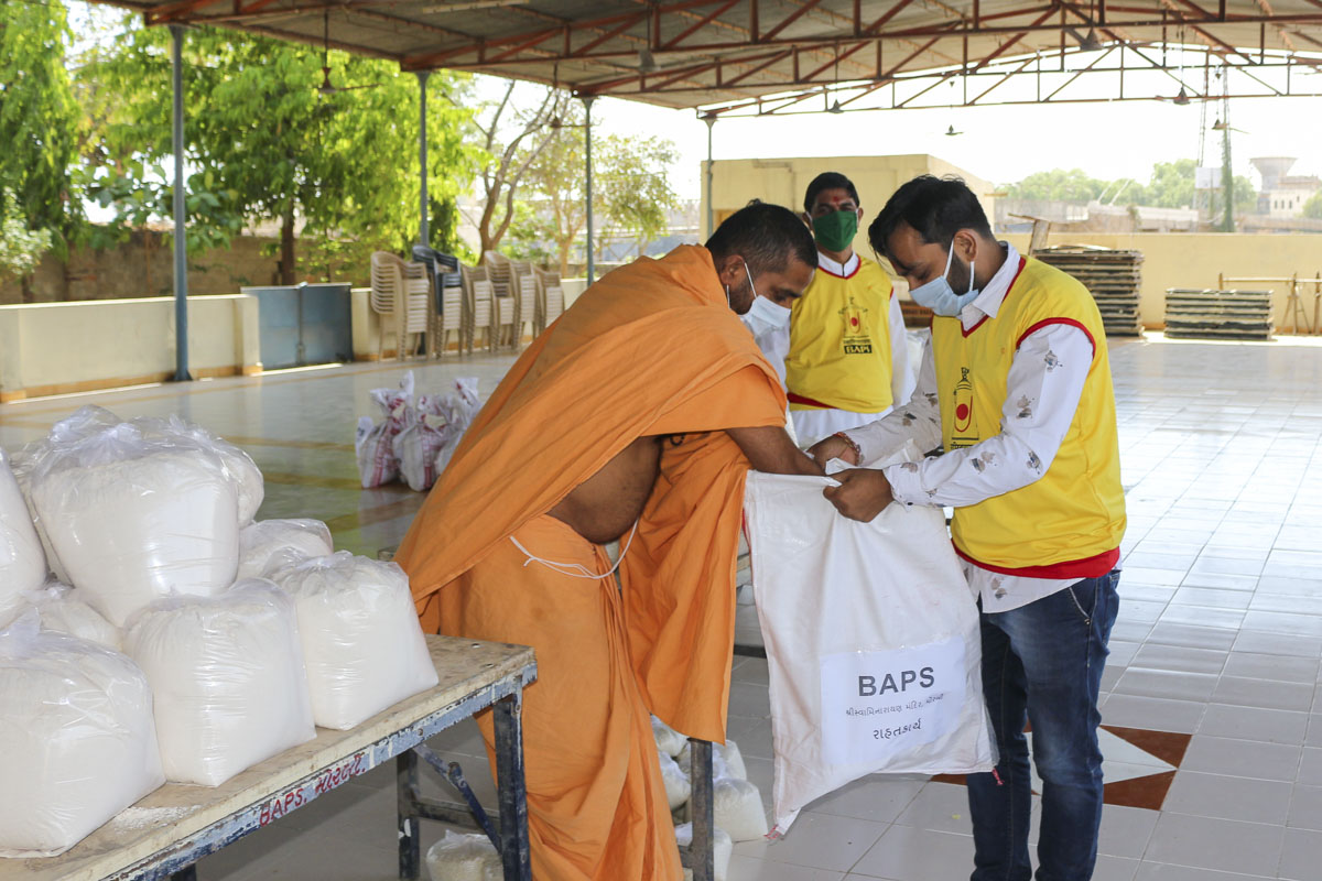 BAPS Community Services During the Coronavirus Pandemic, Morbi