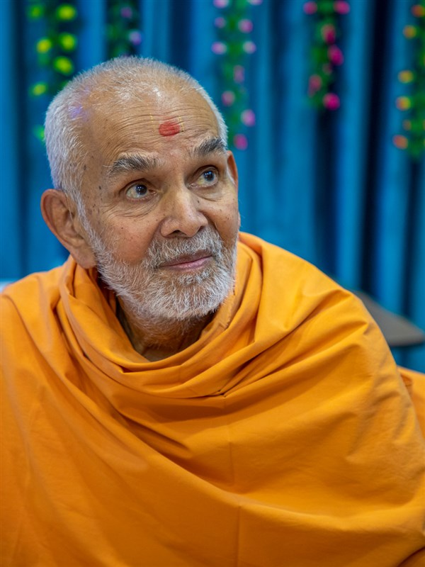 Swamishri in conversation
