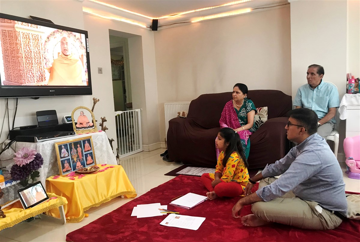 Family Shibir at Home, UK & Europe