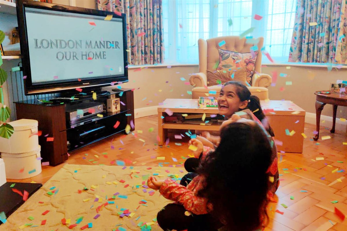 London Mandir 25th Anniversary Finale Celebrations at Home