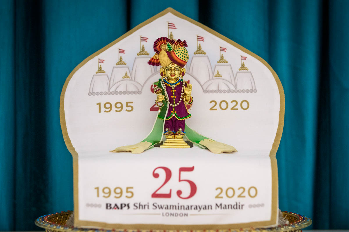 Sunday 23 August marked the final day of celebrations of London Mandir's 25th anniversary