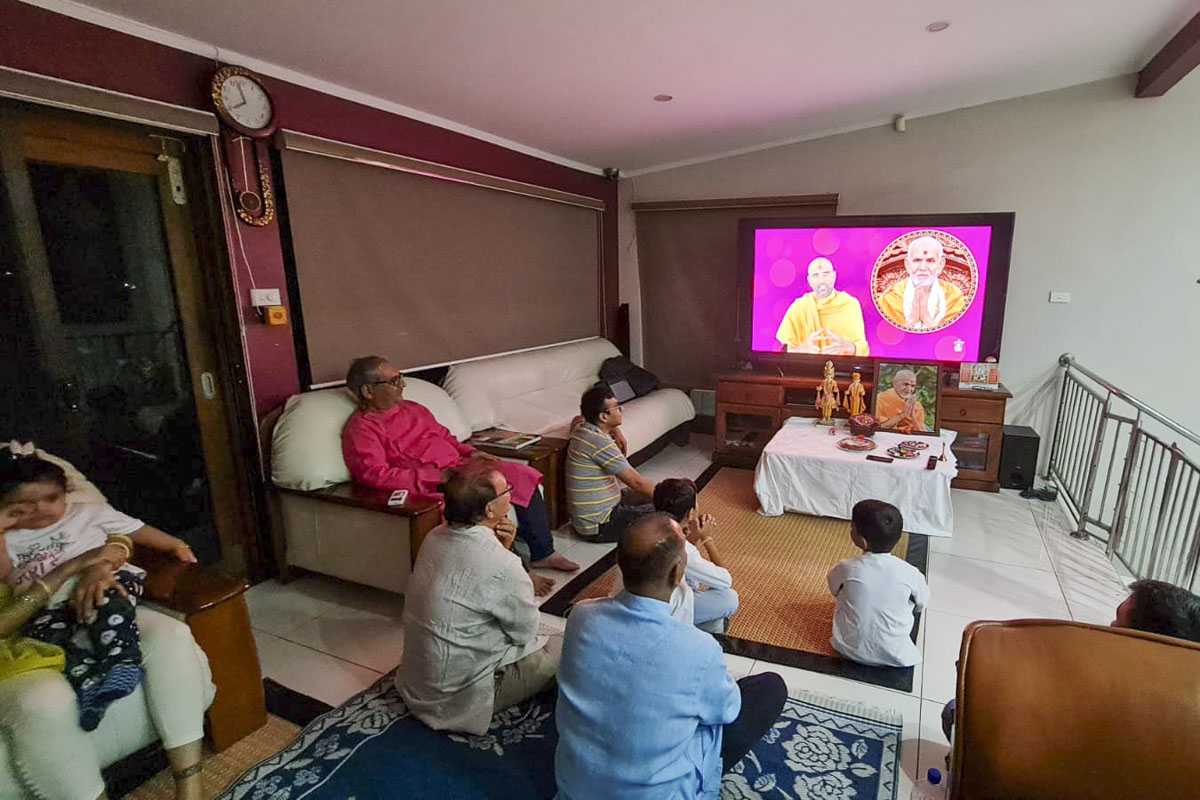 Mahant Swami Maharaj's 87th Birthday Celebration, Auckland