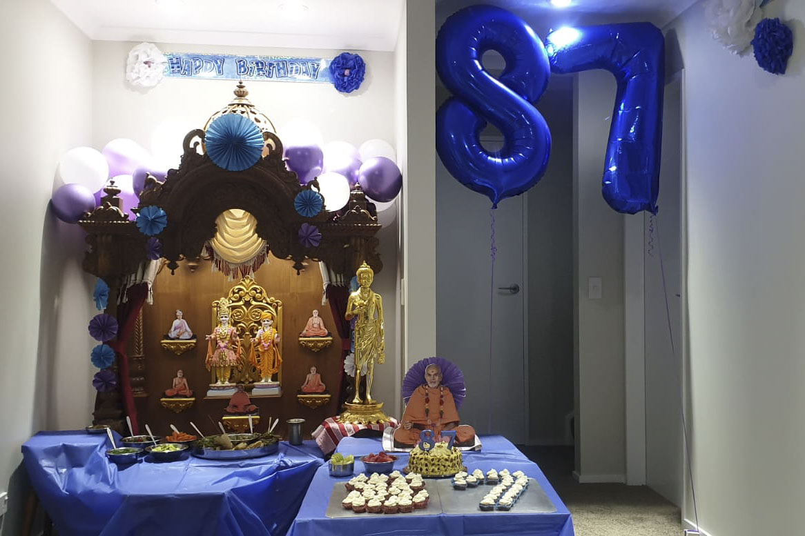 HH Mahant Swami Maharaj's 87th Birthday Celebration, Wellington