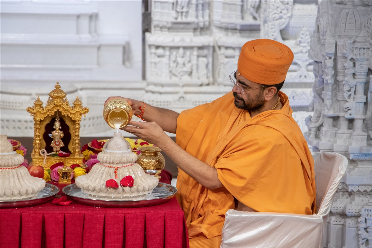 Pujan at Mandirs in North America, UK