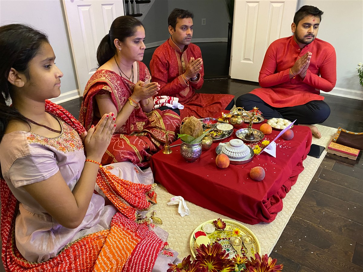 Pujan by Devotees