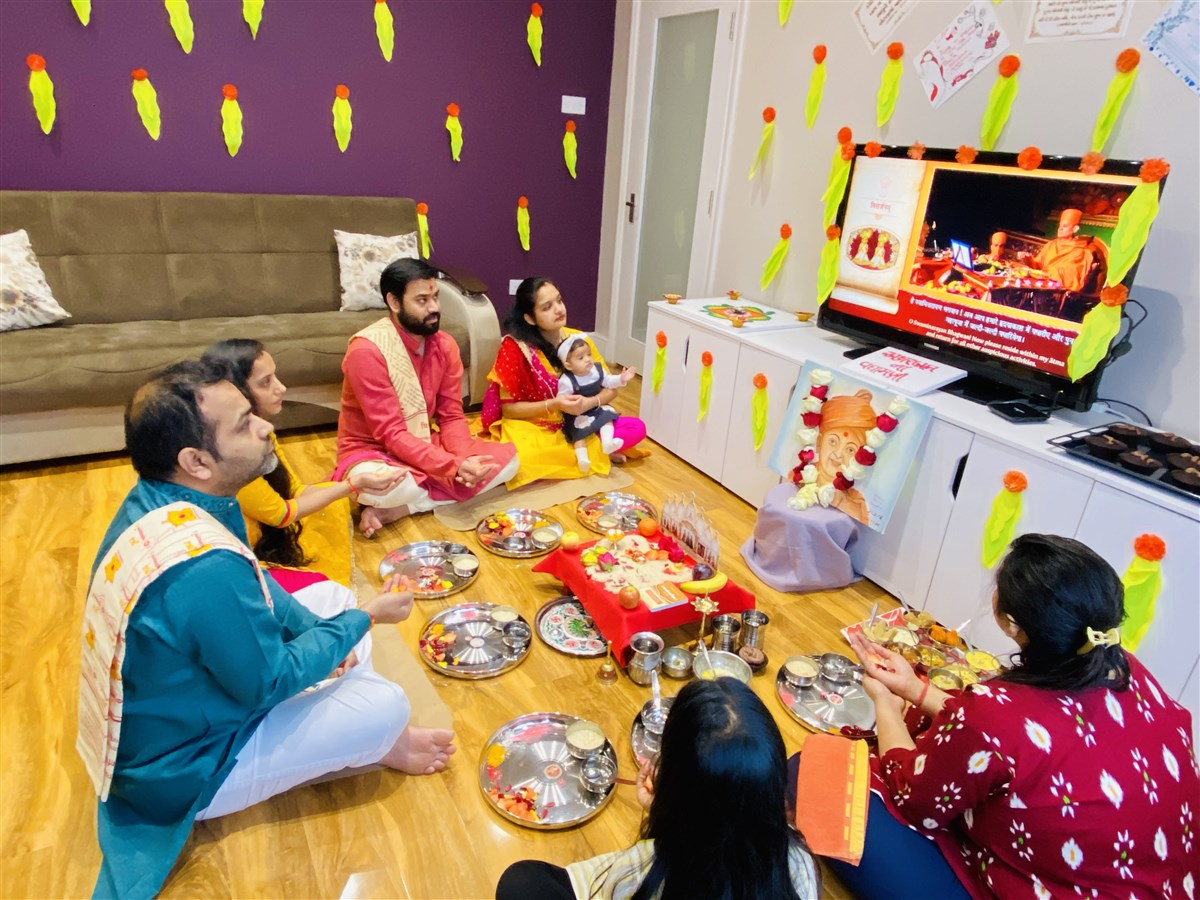 Murti Pratishtha Celebrations at Home, UK & Europe