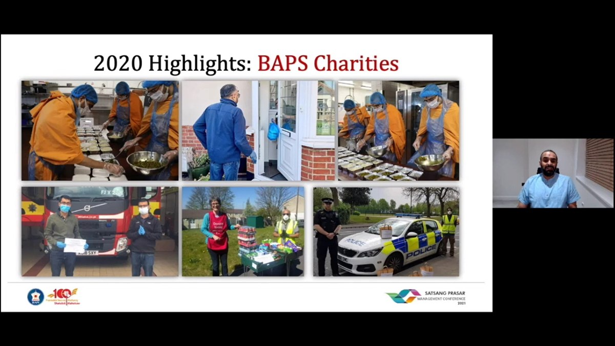 Inspired by Mahant Swami Maharaj, BAPS volunteers also quickly mobilised in 61 areas throughout the UK and Europe to provide food and support to the needy, vulnerable and keyworkers