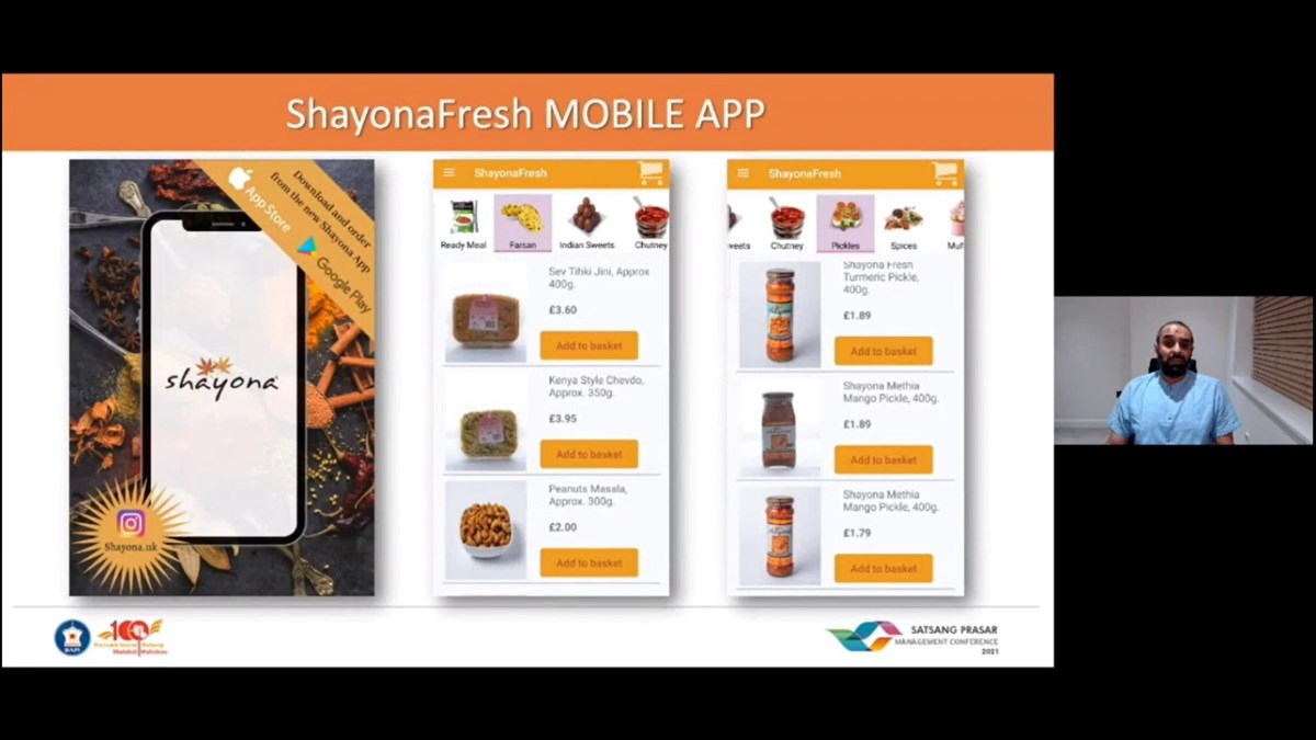 Many services moved online, such as the <a href='https://shayonauk.com/' target='blank' style='text-decoration:underline; color:blue;'>ShayonaFresh</a> app, to allow people to access quality sattvik vegetarian food safely and efficiently