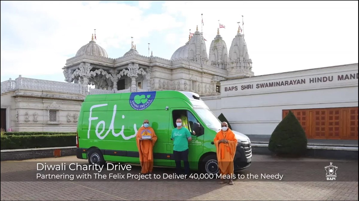 A video further summarised some of the community outreach projects delivered during 2020