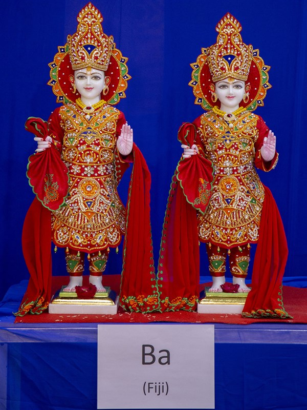 Murtis to be consecrated at BAPS Shri Swaminarayan Mandir, Ba, Fiji