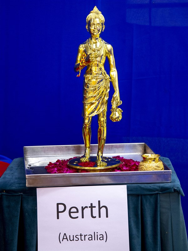 Shri Nilkanth Varni murti to be consecrated at BAPS Shri Swaminarayan Mandir, Perth, Australia