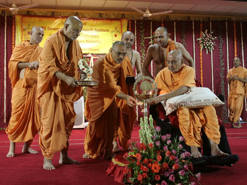 Inauguration of BAPS Swaminarayan Research Institute photos