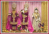 Shri Nilkanth Varni Murti Pratishtha and First Anniversary Celebrations at BAPS Swaminarayan Mandir, Houston, USA