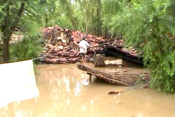 Widespread damage caused by recent floods,Amiyad