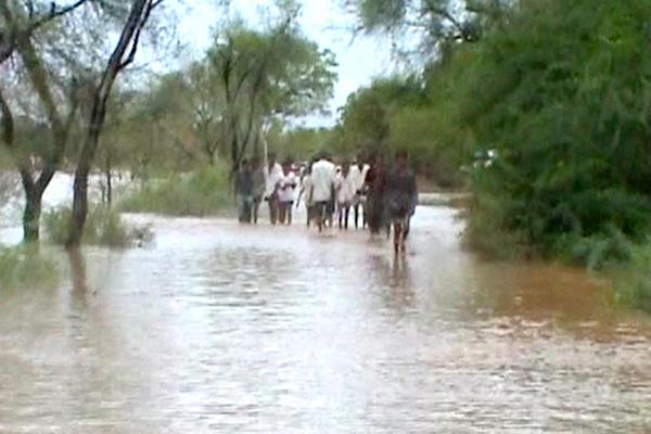 Widespread damage caused by recent floods,Kalu
