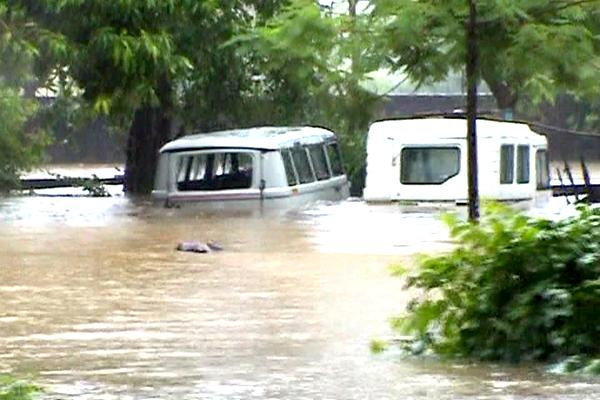 Widespread damage caused by recent floods,Borsad