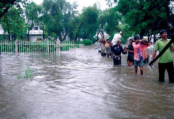 Widespread damage caused by recent floods,Bharuch