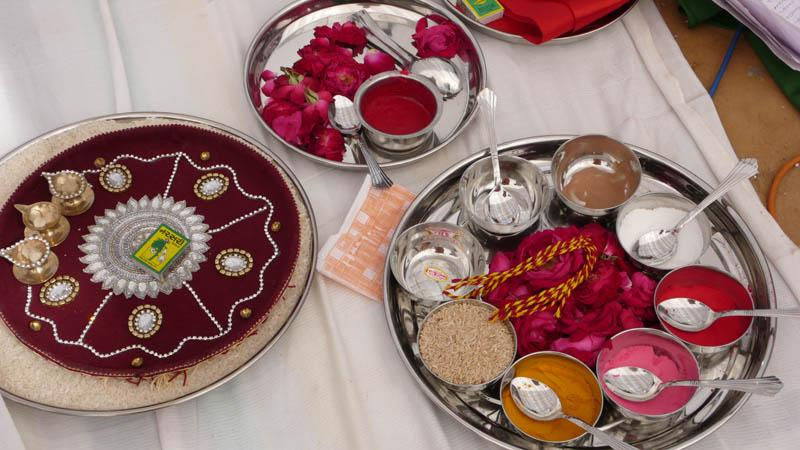Articles of puja